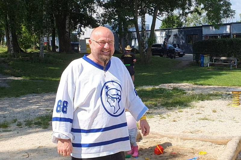 Setkání fanoušků extraligy hokeje v Českých Budějovicích