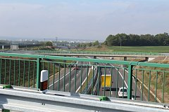 Silnice I/34 splňuje na úseku od Okružní křižovatky v Českých Budějovicích až po lokalitu Na Klaudě nedaleko Lišova základní technické parametry pro zavedení nejvyšší dovolené rychlosti 110 kilometrů v hodině. Komunikace má čtyři jízdní pruhy oddělené upr