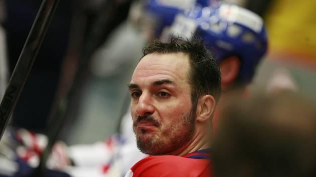 ZKLAMÁNÍ. Kapitán Aleš Kotalík po utkání v Havlíčkově Brodě neskrýval zklamání. Motor si připsal další porážku.