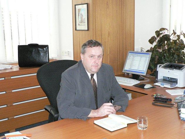 Rektor Jihočeské univerzity Václav Bůžek.