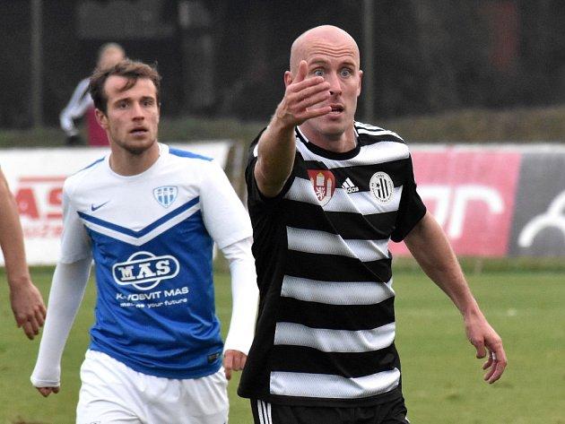 O výhře Dynama v derby s Táborskem na Soukeníku rozhodl svým gólem Ivo Táborský.