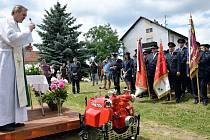 Tradičně oslavili v sobotu 115. výročí založení svého sboru dobrovolní hasiči z Bohunic, místní části Všemyslic na Českobudějovicku.