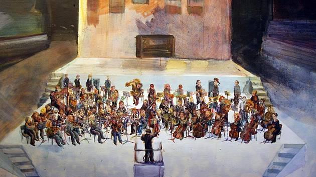 Alšova jihočeská galerie nabízí v budějovickém Wortnerově domě výstavu Hráči. Potrvá do 31. ledna.