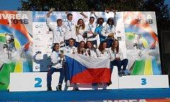 Jihočech Jakub Krejčí  pádloval na mistrovství světa, přivezl si dvě medaile.