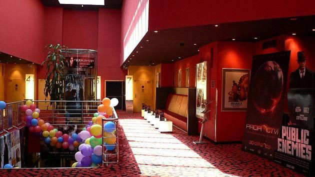 Multikino Cinestar v Českých Budějovicích. Ilustrační foto.