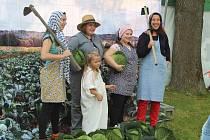 Zelnobraní ve Vidově nabídlo skvělé zelí, skvělé dobroty, skvělý program.