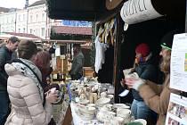 Keramiku a jiné suvenýry vyrobené v dílnách střediska Nazaret můžete koupit na různých akcích. V roce 2019 třeba na adventních trzích v Českých Budějovicích.