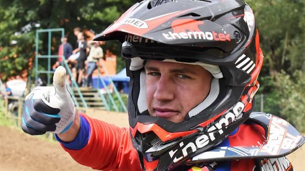 Rakušan Michael Sandner bude hlavní hvězdou sobotního motokrosu v Jiníně.