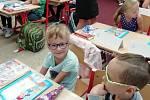 Do první třídy v budějovické ZŠ Máj 1 začala chodit Nikola Vašíčková.
