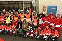Jihočeští záchranáři a jejich rakouští kolegové v Gműndu.