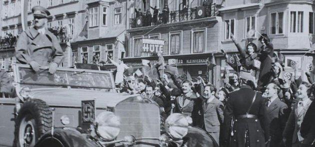 Hitler v Linci.