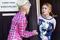 Záběr z nové komedie Zdeňka Trošky Babovřesky.