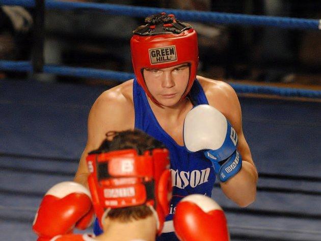 Zápasy Michala Vodárka bývají největším lákadlem extraligového boxu v Gerbeře.