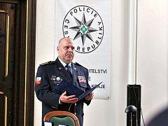 Ředitel jihočeské policie Luděk Procházka.