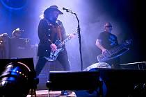 Koncert kapely Lucie se konal i v liberecké Home Credit Aréně.
