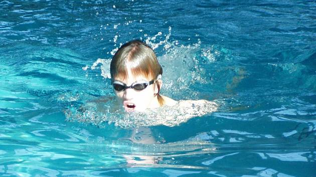 Arnošt Petráček se na paralympiádu připravoval  v českobudějovickém bazéně.