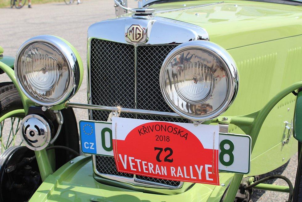 Veteránská Rallye Křivonoska. Ilustrační foto.