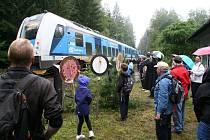 Pasažéři Vlaku Josefa Seidela se v sobotu vydali na Novohradsko, kde díky i více než sto let star