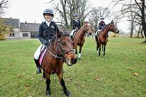 Jezdecký klub z Vondrova uspořádal Hubertovu vyjížďku.