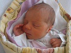 Rovné 3 kg vážila po narození holčička Sofie Šebestová. Na svět se probojovala v 10 hodin a 45 minut v pátek 6.3.2015. Domovem Sofinky budou Hrdlořezy nedaleko Suchdola nad Lužnicí.