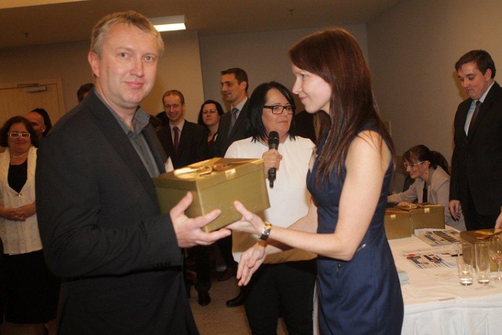 Slavnostní večer k ukončení třetího ročníku projektu Chováme se odpovědně. Na snímku je Pavel Primus, Vedoucí obchodně-provozního odboru Jednoty Tábor.