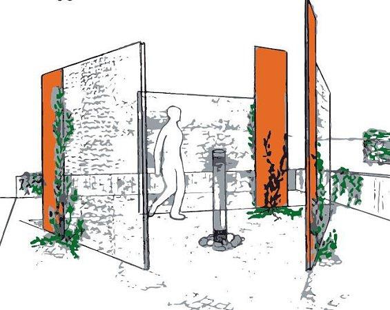 Návrh památníku nenarozených.