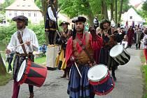 Od pátku do neděle se v Rudolfově konal další ročník Hornických slavností.