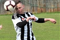 První gól juniorky Dynama ve vítězném utkání s Katvinou dal Marek Kalousek.