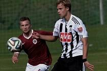 Martin Held v zápase juniorky Dynama s Třincem (4:2) dal první gól vítězů.