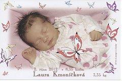 Laura Kmoníčková z Borku.