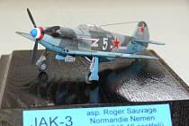 Na výstavě byly nejen modely letadel, ale také vojenská technika, lodě nebo ponorky.