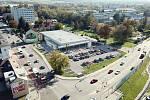 Novou prodejnu začala stavět společnost Lidl na rohu Rudolfovské a Vodní ulice. Na vizualizaci je budoucí podoba prodejny.