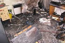Neopatrnost při manipulaci s plynovými spotřebiči často vede ke vzniku požáru, při kterém mnohdy oheň zničí celý byt.