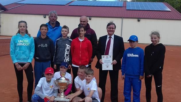 Tenisové výsledky jihočeský týmů v soutěžích dospělých.