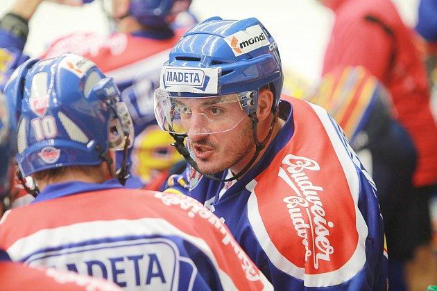 KAPITÁN. Na ledě Havlíčkova Brodu kapitán Aleš Kotalík svůj tým k výhře nedovedl.
