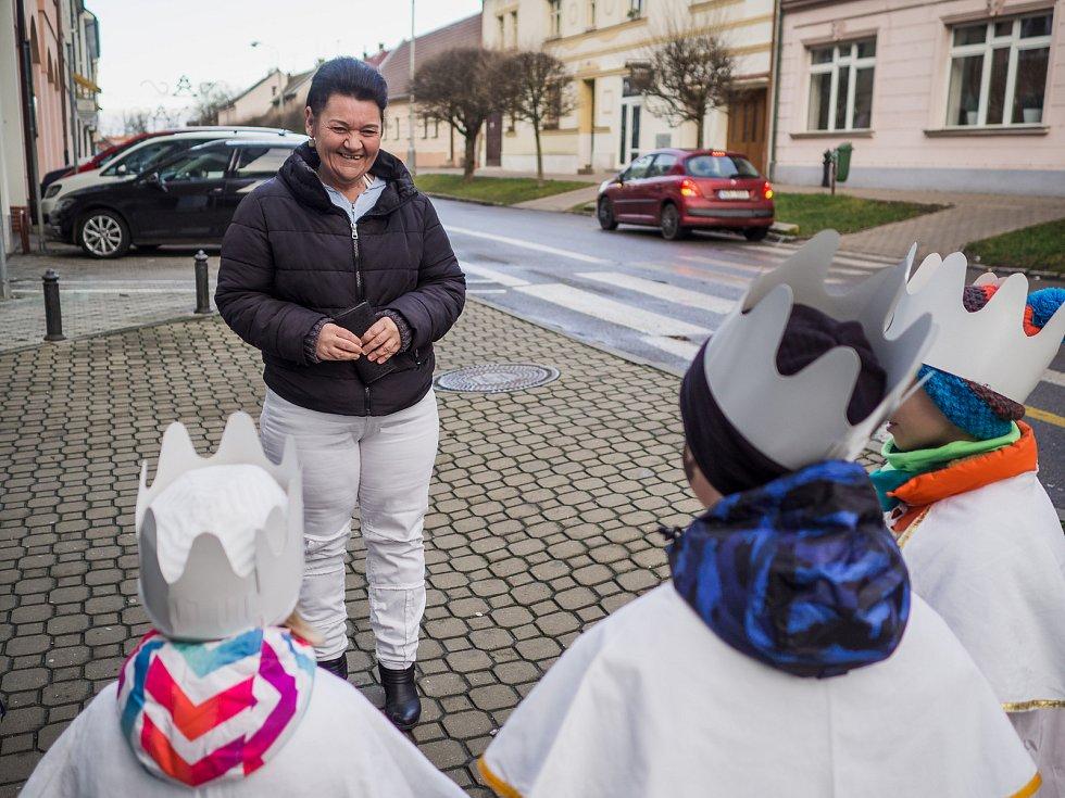 V Hluboké nad Vltavou se v lednu uskutečnila Tříkrálová sbírka.