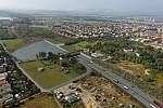 Plánovaná podoba dálnice D3 v okolí Českých Budějovic.