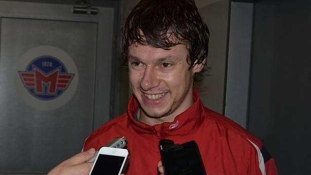 Jiří Ferebauer ochotně odpovídal na dotazy novinářů.
