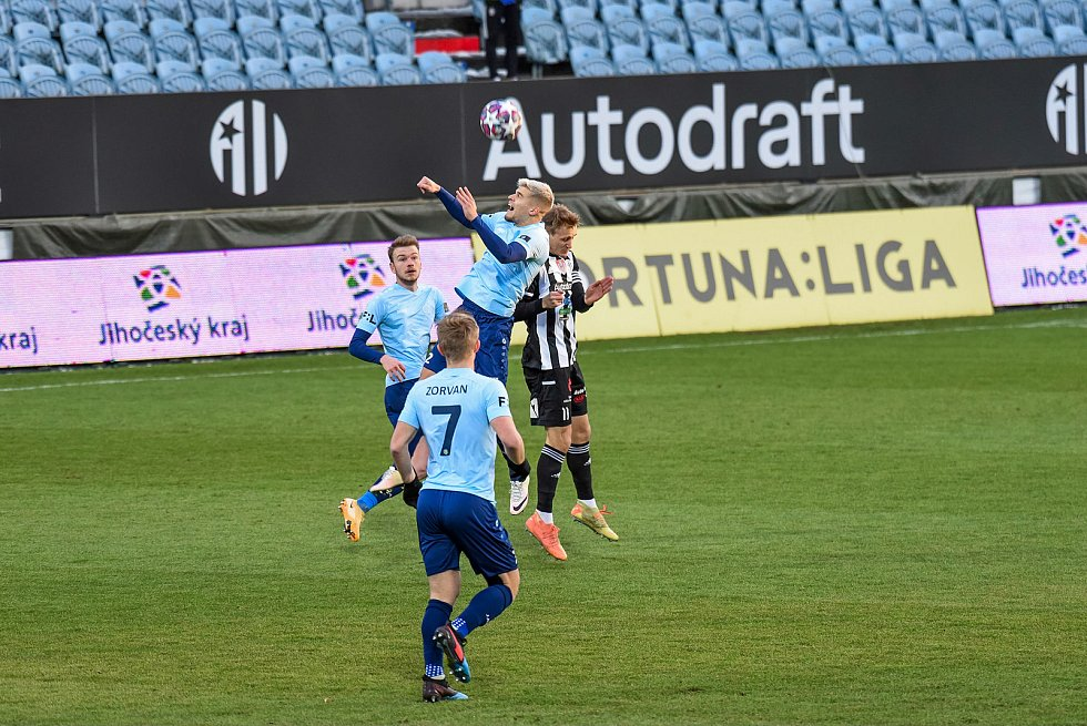 Fortuna liga, fotbal, Dynamo České Budějovice - 1.FK Příbram.