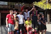 Jihočeský hasičský tým vybojoval zlato v kategorii družstev na sedmém mistrovství republiky v Ostravě.
