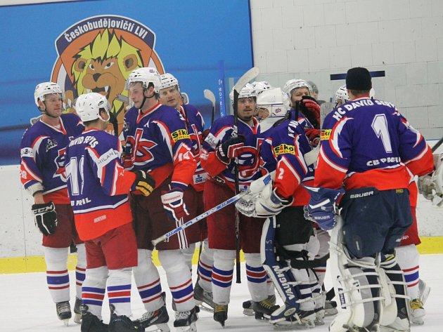 Hokejisté David servisu porazili Žirovnici 7:2 a vedou o skóre krajskou ligu.