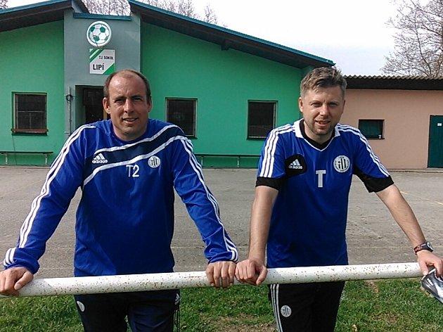 Trénink v Lipí vedli David Horejš a Jiří Lerch