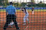 Česká republika - Dánsko na ME v softbalu v Ledenicích