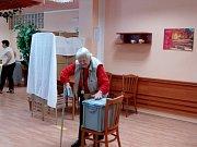 Volby v Domově pro seniory Máj.