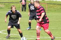 Fotbalisté Mladého si doma zkušeně poradili s mládím Olympie Týn B (4:1).