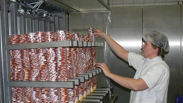 Výroba lipánků v Madetě.