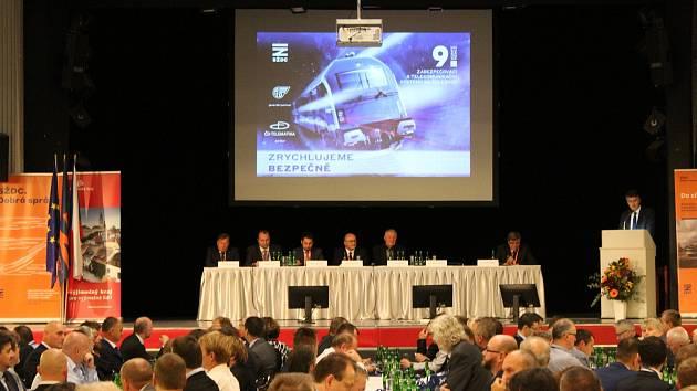 Zabezpečovací a telekomunikační systémy na železnici je název konference v Českých Budějovicích.