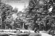 Pomník Josefa II. po roce 1900.
