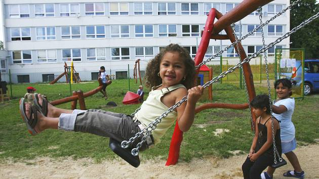 Dětské hřiště v Okružní ulici vyrostlo podle představ samotných dětí.