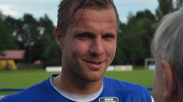 Zbyněk Musiol v zápase Táborska s Varnsdorfem (1:1) byl autorem vyrovnávacího gólu domácích.